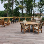 intracoastal deck with furniture at Best Western Plus Myrtle Beach@Intracoastal