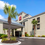 exterior of Best Western Plus Myrtle Beach@Intracoastal in daylight